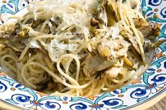 Spaghetti carciofi e provola - PRIMI