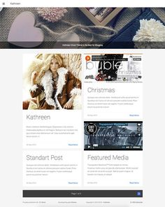 Kathreen Ghost Theme by ShakeDesign on @creativemarket