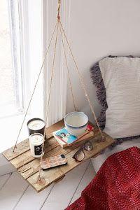Ideas muy sencillas para conseguir mesillas de noche originales, creativas y distintas.