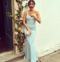 Vestido azul candy de Thaila Ayala (madrinha em casamento durante o dia)/ blue dress for wedding during the day