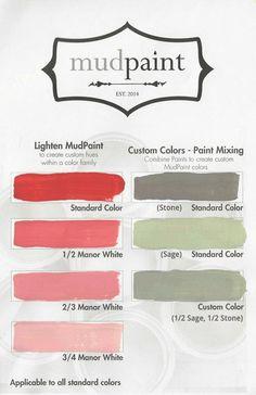 Mixing MudPaint Colors   MudPaint