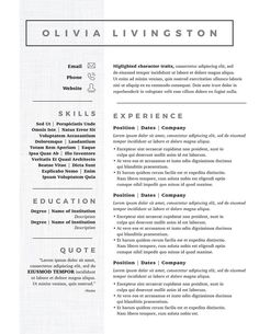 image result for 2017 popular resume formats 2018 job search