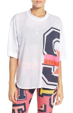 01a99b81723f adidas by Stella McCartney  Stellasport  Climalite® Mesh Tee available at…  Sports Luxe