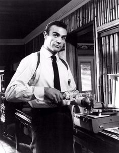 Sean Connery is James Bond (1962 to 1983).