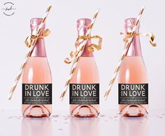 Mini Drunk In Love Custom Champagne Label. Bachelorette Party Decora… Mini Drunk In Love Custom Champagne Label. by SpotswoodDesigns on Etsy Bachlorette Party, Spa Bachelorette Parties, Bachelorette Party Decorations, Bachelorette Weekend, Bridal Shower Decorations, Champagne Campaign Bachelorette, Wine Party Decorations, Engagement Party Planning, Engagement Party Favors