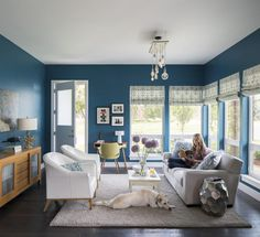 """Every parent looks forward to Acertain sweet spot when it comes to raising kids: Homeowner Jill Keogh describes this time as """"no teens yet, and no toddlers anymore."""" On the brink of these golden years, Jill and her husband, Brendan, came into their brand-new Broomfield home on a mission to make it work—and actually look good—for the complex day-to-day routine of two adults, three kids, and one rescue dog."""