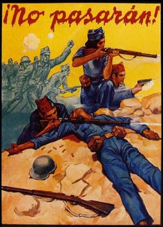 'They shall not pass!', Spanish Civil War, 1930s - Visit to grab an amazing super hero shirt now on s