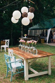 Photography: B & E Photographs - bephotographs.com/  Read More: http://www.stylemepretty.com/2014/09/10/rustic-backyard-wedding-in-brooksville-florida/