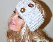 Earwarmer! $28.99, via Etsy.