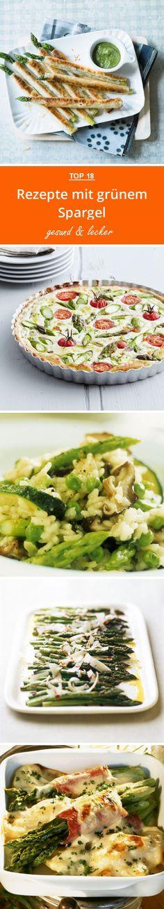 Rezepte mit grünem Spargel | eatsmarter.de #spargel #grüner spargel #rezept