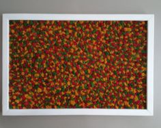 2 ft x 1.5 ft Preserved Reindeer Moss Art w/ by TheMossArtShop