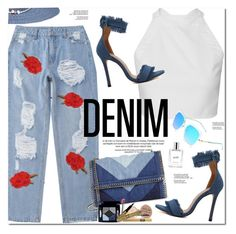 """All Denim, Head to Toe"" by oshint ❤ liked on Polyvore featuring STELLA McCARTNEY, Avenue and philosophy"