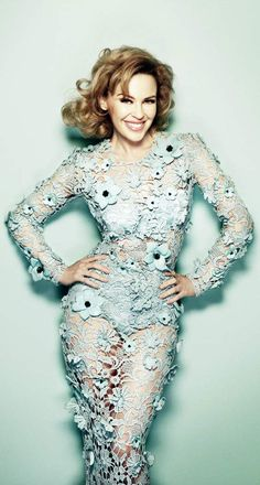 Kylie Minogue for Glamour UK July 2012, Shot by Simon Emmett_程天太 - 美丽鸟