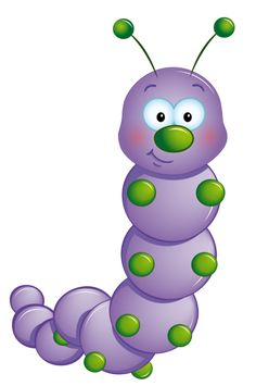 ‿✿⁀ purple caterpillar  ‿✿⁀