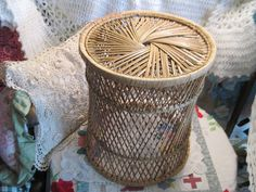 Your place to buy and sell all things handmade Wicker Table, Rattan Furniture, Fake Flowers, How To Look Better, Best Gifts, Flooring, Nice, Vintage, Etsy