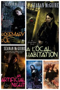 October Daye Series by Seanan McGuire - Can't put these books down.