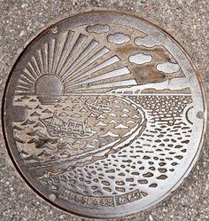 Japan's Manhole Covers