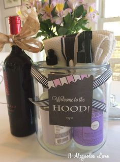 Traditional Housewarming gift for new neighbors | Did it ...