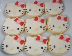 Hello Kitty / Cupcake / Heart Cookies