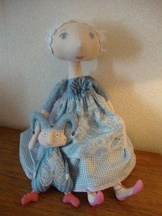 decorative cloth doll автор Василиса
