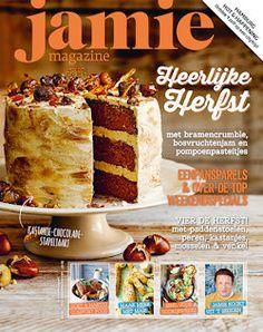 3x Jamie Magazine € 15,-: Het blad van Jamie Oliver draait om mooie recepten, mensen met liefde voor hun vak en geweldige plaatsen.