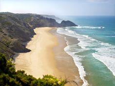 #Beach Praia do Vale dos Homens, Algarve, Portugal | via http://blog.turismodoalgarve.pt