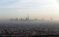 Darunter auch das höchste Gebäude der Welt, der Burj Kalifa.