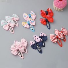 >> Click to Buy << YYXUAN 2 pieces Girl Boutique Hair Bows Barrettes Clips For Kids Toddlers Girls Printing Bow Hairgrips #Affiliate