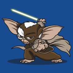 I suppose Gizmo could've been from a galaxy far far away...
