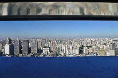View Through Shutter onto Sao Paolo