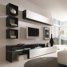 Creative Furniture AMSTERDAM CS 11335 Wall Unit. Modern livingroom furniture.