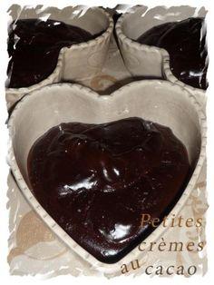 Petites crèmes au cacao ultra rapides