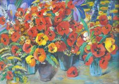"The top lot of the auction was ""Poppies,"" an oil by Armenian artist Martiros Saryan. Executed in 1958, it realized $140,300, selling to a collector of Armenian art in California."