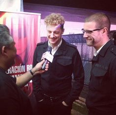Nicholaus and Chris at Festival Coordenada GDL