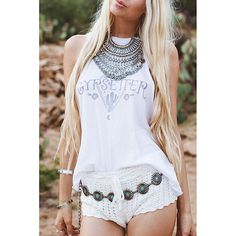 Gypsetter Tank from AsOne Designz. Shop more products from AsOne Designz on Wanelo.