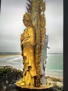 Big Pineapple, Goddess Art, Stone Sculpture, Guanyin, Beautiful Architecture, Buddhism, Landscape Photography, Sculptures, Princess Zelda
