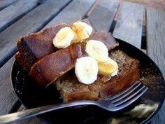 Banana Bread French Toast, #Banana, #Bread, #French, #Paleo, #Toast