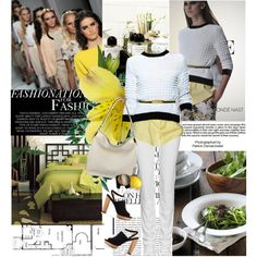 Milan Spring, created by ffpava on Polyvore