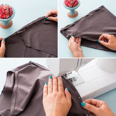 Start up your sewing machine and make this simple skirt.