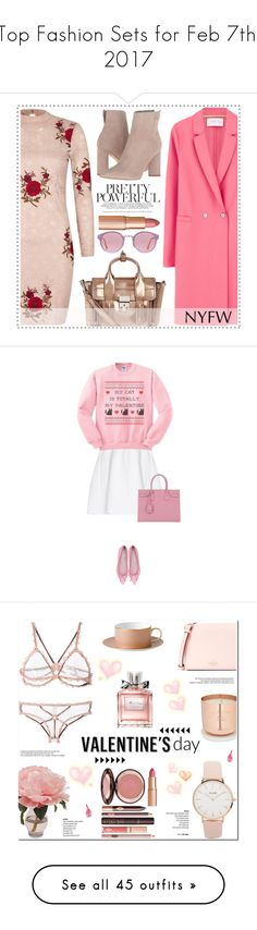 """Top Fashion Sets for Feb 7th, 2017"" by polyvore ❤ liked on Polyvore featuring River Island, Harris Wharf London, 3.1 Phillip Lim, RetroSuperFuture, Kendall + Kylie, Charlotte Tilbury, NYFW, malo, Yves Saint Laurent and CLUSE"