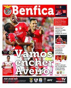 """Jornal """"O Benfica"""" amanhã nas bancas!"""