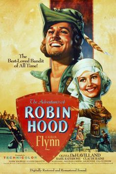 """""""The Adventures of Robin Hood"""" (1938), directed by Michael Curtiz and William Keighley."""