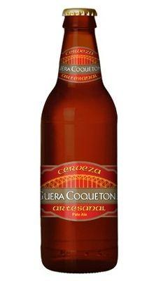 Cervecería Frontera Güera Coquetona Cerveza Artesanal Cerveza Ámbar Estilo Pale Ale 100% Malta 5% Alc. Vol. Tijuana, Baja California, México