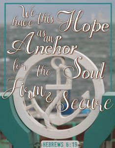 We have this hope as an anchor for the soul, firm and secure. Hebrews 6:19   How to Find Truth in Relationships Defined by Lies - His Dearly Loved Daughter  Bible Verse, Verses, Scripture, Trust