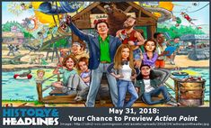 May 31, 2018: Your Chance to Preview Action Point - https://www.historyandheadlines.com/may-31-2018-your-chance-to-preview-action-point/