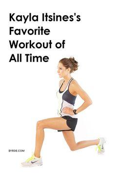 Kayla Itsines favorite workout