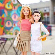 46 тыс. отметок «Нравится», 397 комментариев — Barbie® (@barbiestyle) в Instagram: «Two of a kind! Tag your partner in style.   #barbie #barbiestyle»