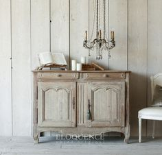ELOQUENCE Antique French Sideboard Circa: 1870