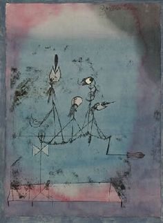 The twittering machine. Paul Klee