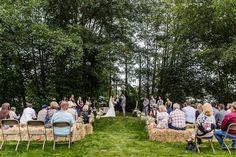 Backyard rustic barn wedding.